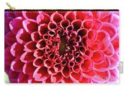 Honeycomb Dahlia Carry-all Pouch