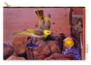 Honeyeaters Drinking Water Carry-all Pouch