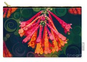 Honeysuckle Bloom In An Abstract Garden Painting Carry-all Pouch