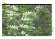 Honeysuckle Blossoms Carry-all Pouch