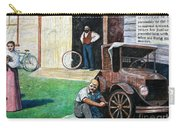 Hong Hing Mural Detail Carry-all Pouch
