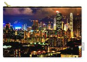 Hong Kong Skyline At Night 1 Carry-all Pouch