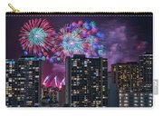 Honolulu Festival Fireworks Carry-all Pouch