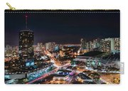 Honolulu Night Panorama Carry-all Pouch