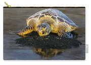 Honu At Sunset 01 Carry-all Pouch
