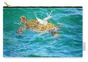 Honu Hawaiian Green Sea Turtle Carry-all Pouch