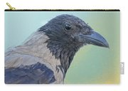 Hooded Crow Carry-all Pouch