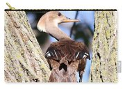 Hooded Merganser Duck Carry-all Pouch