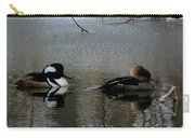 Hooded Merganser Mates Carry-all Pouch