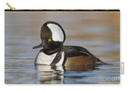 Hooded Merganser On Calm Pond Carry-all Pouch