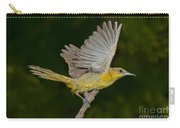 Hooded Oriole Hen At Take Carry-all Pouch