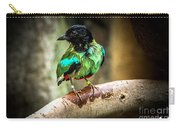 Hooded Pitta Carry-all Pouch