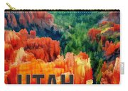 Hoodoos In Bryce Canyon Utah Carry-all Pouch