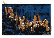 Hoodoos In Shadows Bryce Canyon National Park Utah Carry-all Pouch