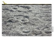 Hoof Prints In Sand Carry-all Pouch