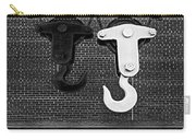 Hook Me Up Bw Carry-all Pouch by Susan Candelario