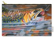 Hook On Flies Carry-all Pouch