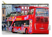 Hop On And Hop Off Bus In Bergen Carry-all Pouch