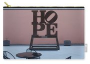 Hope And Chairs Carry-all Pouch