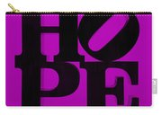 Hope In Purple Carry-all Pouch