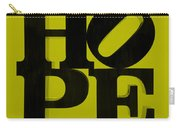 Hope In Yellow Carry-all Pouch