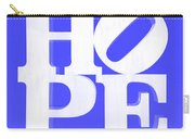 Hope Inverted Blue Carry-all Pouch