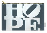 Hope Inverted Denim Carry-all Pouch