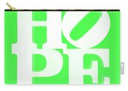 Hope Inverted Green Carry-all Pouch