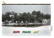 Hope Peace Joy Carry-all Pouch