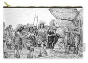 Hopi Indian Snake Dance Carry-all Pouch