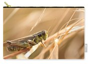 Hopper In Golden Grass Carry-all Pouch