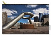 Horace Dodge Fountain Hart Plaza Detroit Michigan  Carry-all Pouch