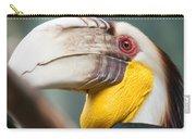 Hornbill Bird Portrait Closeup Carry-all Pouch