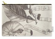 Horned Orange Carry-all Pouch by Cornelis Bloemaert