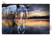 Horse 6 Carry-all Pouch by Mark Ashkenazi