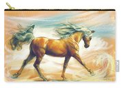Horse Akalteke Carry-all Pouch