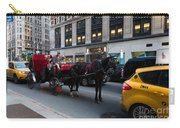 Horse And Carriage Nyc Carry-all Pouch