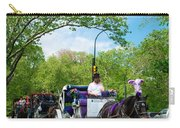 Horse And Carriages Central Park Carry-all Pouch