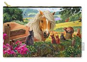 Horse And Cats Carry-all Pouch