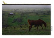Horse And Farmhouse Carry-all Pouch