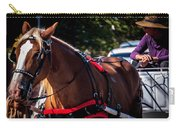 Horse And Rider Carry-all Pouch