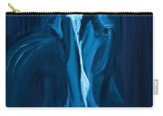 horse - Apple indigo Carry-all Pouch