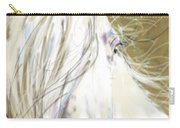 Horse Blowing In The Wind Carry-all Pouch