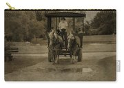 Horse Carriage Tour Carry-all Pouch
