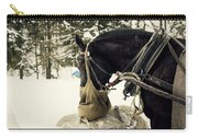 Horse Cinema Style Carry-all Pouch