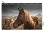 Horse Composition Carry-all Pouch