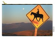 Horse Crossing Carry-all Pouch