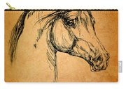 Horse Drawing Carry-all Pouch