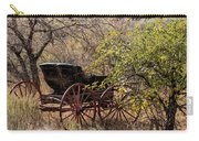 Horse-drawn Buggy Carry-all Pouch by Kathleen Bishop