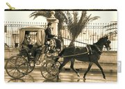 Horse Drawn Carriage Ride Carry-all Pouch
